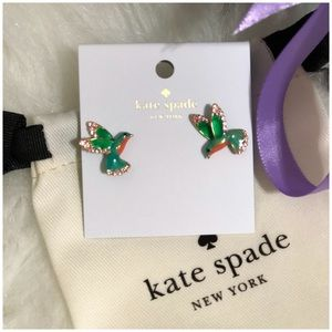 Kate ♠️ Spade Hummingbird Earrings